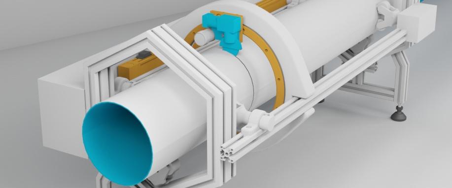 Инспекция, резка и сварка труб на морских объектах