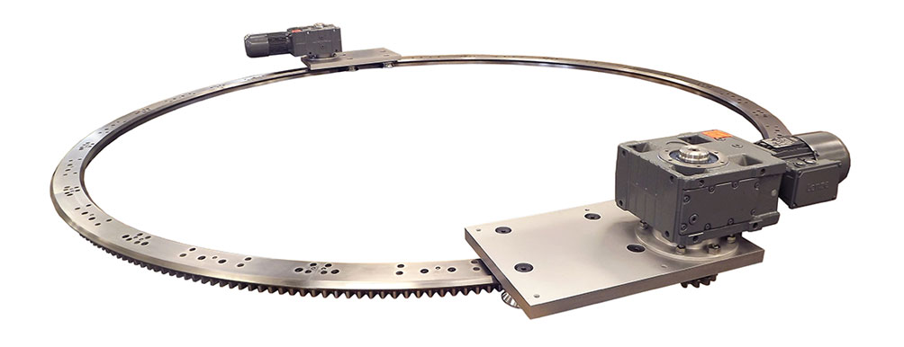 Large Diameter Ring Guides and Track Systems