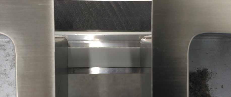 Highly polished surfaces of the welded stainless-steel tanks